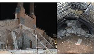 Tarihi medresenin altında 'gizli tünel' bulundu