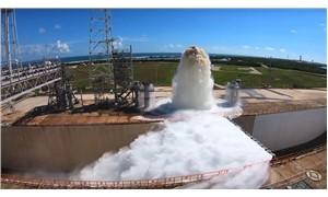 """NASA, 1.7 milyon litre suyu """"bir dakikada"""" tahliye etti"""