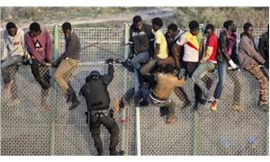 Göçmenler, sınırlarda yaşam mücadelesinde