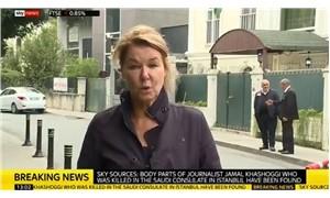 Sky News: Kaşıkçı'nın cesedine ait parçalar bulundu