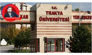 Trakya Üniversitesi öğrencileri  kayıp 6 milyonu rektöre sordu