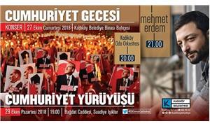 """Kadıköy'de """"Cumhuriyet Gecesi"""" konseri"""