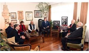 Kılıçdaroğlu'ndan Ara Güler'in ailesine taziye ziyareti