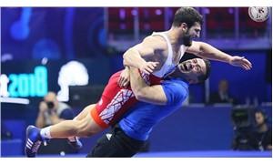 Metehan Başar'dan, Dünya Güreş Şampiyonası'nda altın madalya