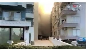 Antalya'da otel yangını: Zemin kat tamamen yandı