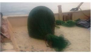 Balıkçıların ağlarına mayın takıldı