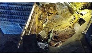Metro inşaatında göçük: İki kişi yaşamını yitirdi