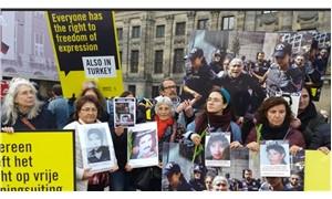 Amsterdam'da Cumartesi Anneleri'yle dayanışma eylemi: 'Barışçıl gösteri yapmak herkesin hakkıdır'