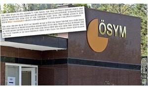 ÖSYM'den KPSS ön lisans adaylarına uyarı
