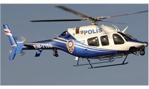 Polis helikopterine lazer tutan adama 10 bin lira para cezası