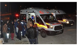 Van'da sığınmacıları taşıyan minibüs şarampole yuvarlandı