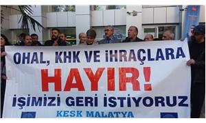 KESK Malatya Şubeler Platformu: Tüm kamu emekçileri işlerine iade edilmelidir