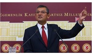 CHP'li Özel: Yasama robotlarıyla karşı karşıyayız