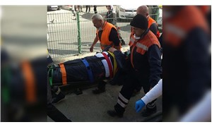 Sultangazi'de temizlik işçisine iki tramvay çarptı