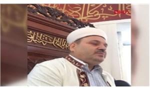 Cami imamı, belediye başkanlığı adaylığını camiden duyurdu