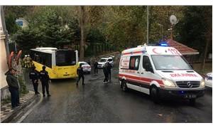 İETT otobüsü kaza yaptı: 9 yaralı