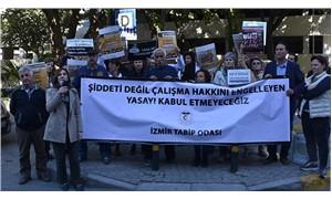 İzmir'de doktorlardan torba yasa teklifine tepki