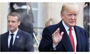Macron, Trump'a yanıt vermiyor