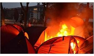 'Çadırları yakın' talimatı vermişti: Eski emniyet müdür yardımcısı hakkında yakalama kararı