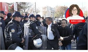 'Hastanemi kapatma' eylemine polis saldırısı