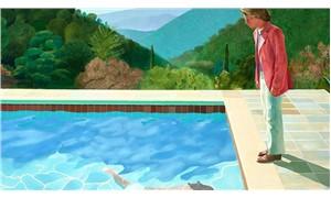 Hockney'in tablosu rekor kırdı