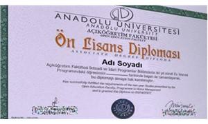 Sahte diploma 500 TL