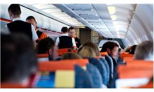 """Uçakta hostese 'Yanımda TNT var' diyen şahıs gözaltına alındı: """"Şaka yaptım"""""""
