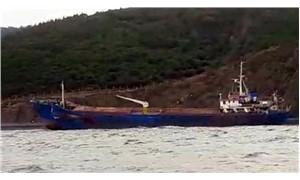 Yalova'da kuru yük gemisi karaya oturdu