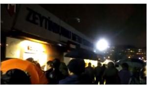 Zeytinburnu Metro İstasyonu'nda bir yolcu tren ile peron arasına sıkıştı