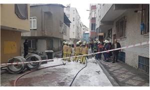 Bağcılar'da doğal gaz borusunda patlama