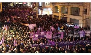 Kadınlar, şiddete karşı sokaklarda!