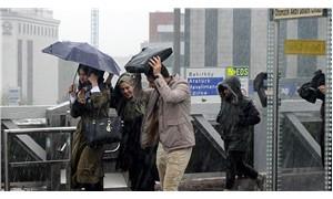 Meteoroloji'den Marmara ve batı kesimlere sağanak uyarısı
