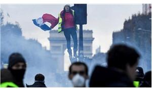 Fransa'da 'sarı yelekliler' direnişi sürüyor