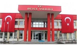 Düzce Valiliği'nde 'sınav usulsüzlüğü' iddiası