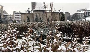 Erzurum ve Kars'ta yoğun kar yağışı