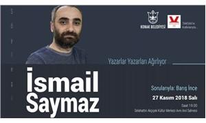 İsmail Saymaz bu akşam İzmir'de söyleşecek