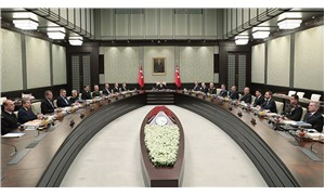 MGK, Erdoğan başkanlığında Saray'da toplandı