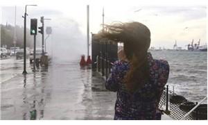 İBB'den 3 gün sürecek fırtına ve yağış uyarısı