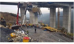 Viyadükteki göçük altında kalan 4 işçi 'yaşamını yitirdi' iddiası