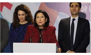 Zurabişvili, Gürcistan'ın ilk kadın cumhurbaşkanı oldu