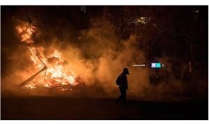 'Sarı yelekliler' protestosu Belçika'ya sıçradı
