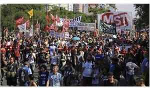 Binlerce kişiden G20 protestosu