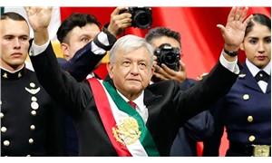 Obrador göreve neoliberalizmi eleştirerek başladı