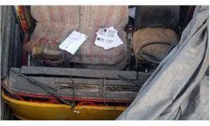 Kamyon arkası yazıları kamyon hırsızlarını ele verdi