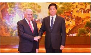 TBMM Başkanı Yıldırım, Çinli mevkidaşıyla görüştü