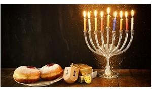 Hanuka, Şişli'de kutlanıyor