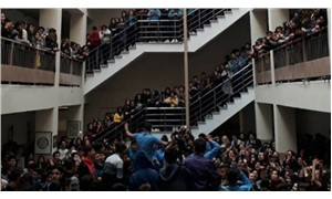 Tacizi protesto eden öğrencilere ceza!