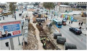 Üsküdar Meydanı'ndaki İSKİ kazısında tarihi kalıntılar çıktı