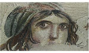 'Çingene Kız' mozaiği sergiye hazırlanıyor