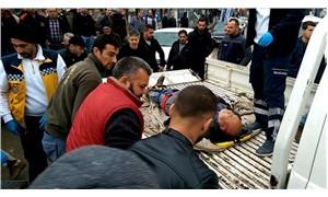 İşte AKP'nin sağlık sistemi: Kamyonet kasasında hastaneye götürüldü